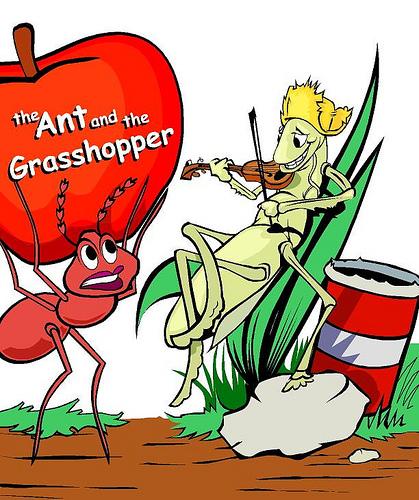 story-ant-grasshopper