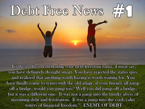 Debt Free News 1