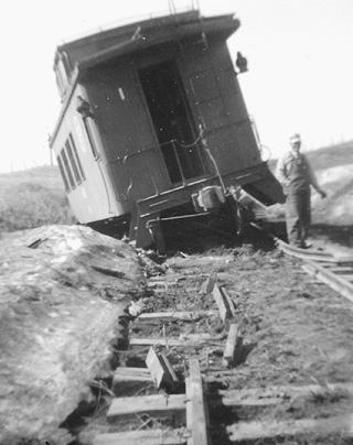 caboose off track