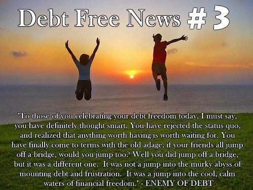 Debt Free News