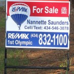 for sale sign home