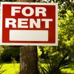 for rent sign house