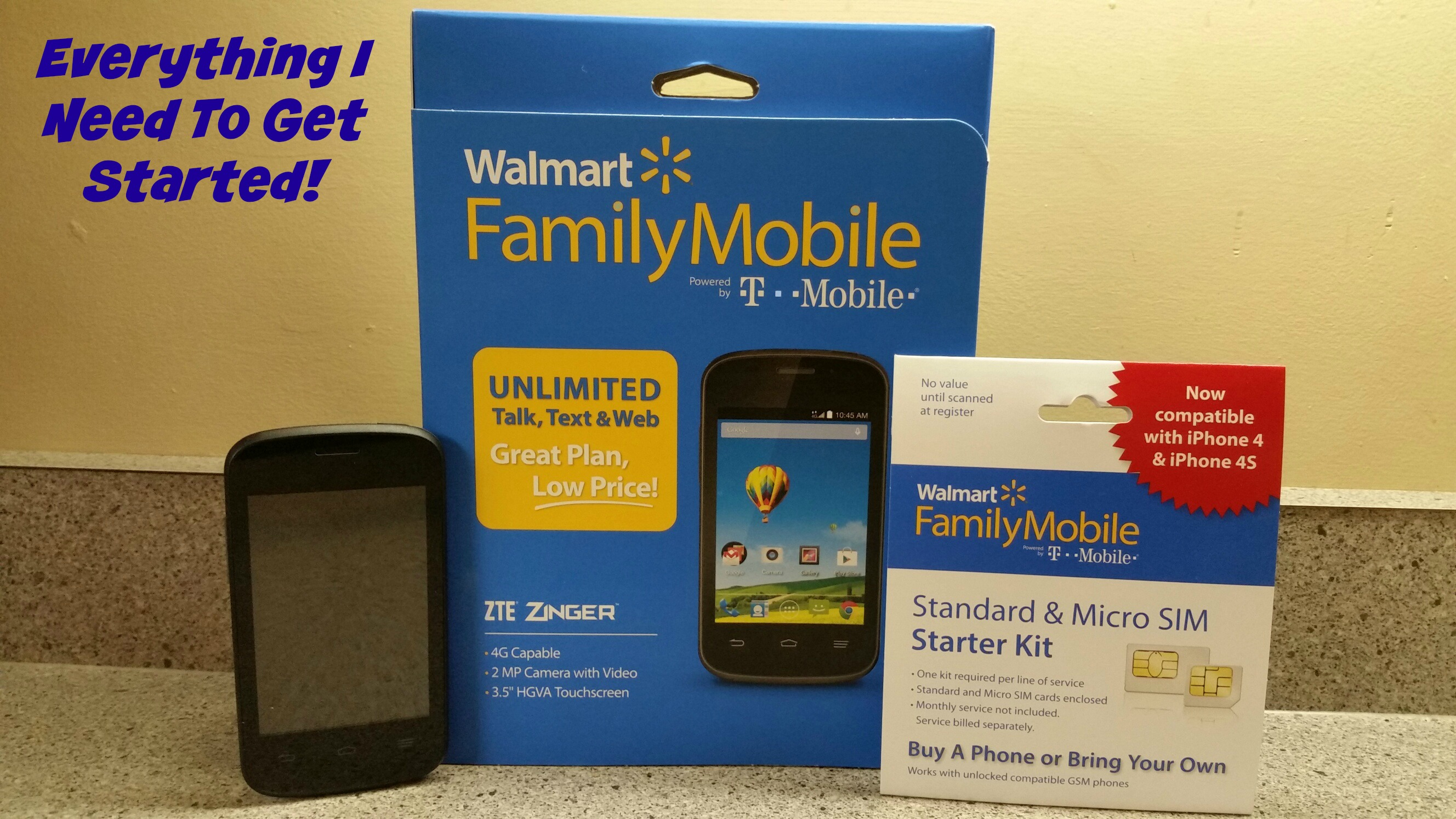 Lowest Priced Unlimited Plans Through Walmart Family Mobile Will