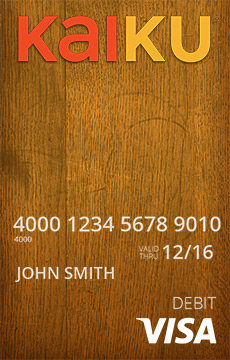 designs_wood_orange - Kaiku Visa Prepaid Card